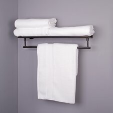 """Allure 25.75"""" Wall Mounted Rack and Towel Bar"""