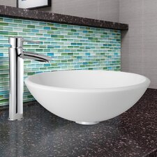 Phoenix Stone Vessel Sink and Shadow Faucet Set