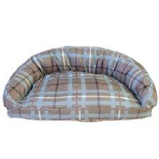 Brutus Tuff Semi Circle Lounger Bolster Dog Bed