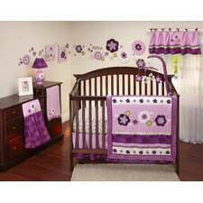 Pretty in Purple 9 Piece Crib Bedding Set