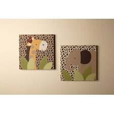 Kulala 2 Piece Canvas Art Set