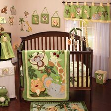 Jungle Babies 8 Piece Crib Bedding Set