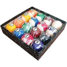 Action Billiard Balls White Marble Ball Set