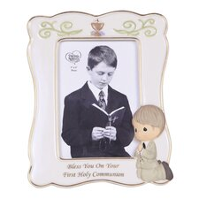 Bless You On Your First Holy Communion Boy Picture Frame
