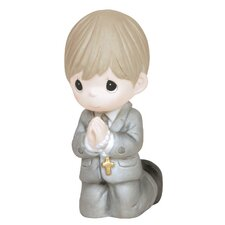 Remembrance of My First Holy Communion Boy Figurine
