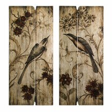 Norida Bird Canvas Art (Set of 2)