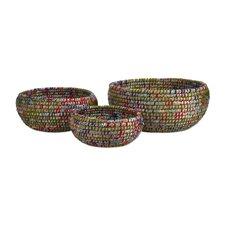 Curtis Woven Decorative Bowl 3 Piece Set