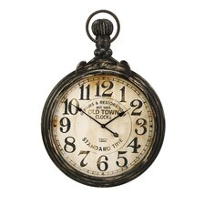 "Oversized 27.5"" Churchill Pocket Watch Wall Clock"