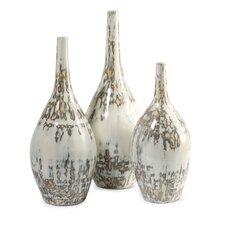3 Piece Hampton Mexican Pottery Vases Set
