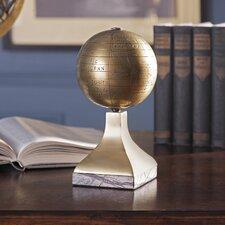 Beth Kushnick Globe with Stone Stand
