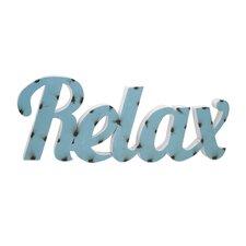 Relax Wall Décor