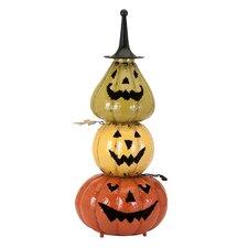 Viggo Decorative Stacked Pumpkin