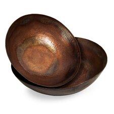 Scalloped Decorative Bowl 2 Piece Set