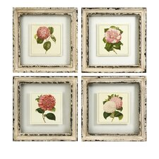 Lynette 4 Piece Framed Print Art Set