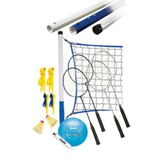 Recreational Badminton & Volleyball 26 Piece Set