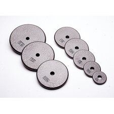 "1.25 lbs Standard 1"" Plate in Gray (Set of 5)"