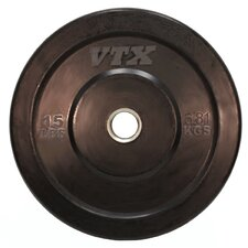 VTX 15 lbs Solid Rubber Bumper Plate