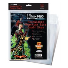 "8.75"" x 10.5"" Resealable Magazine Comic Bags"