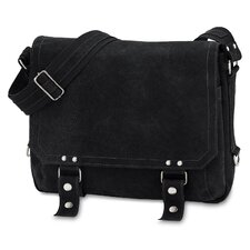 East West Distressed Messenger Bag