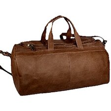 "19"" Leather Classic Carry-On Duffel"