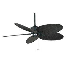 """52"""" Islander 5 Palm Blade Ceiling Fan"""