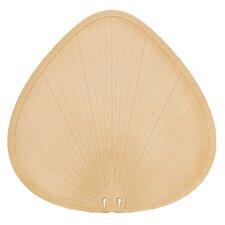 Wide Oval Palm Leaf  Outdoor Ceiling Fan Blade (Set of 5)