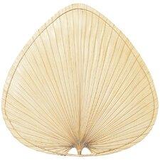 Punkah Wide Oval Palm Indoor Ceiling Fan Blade