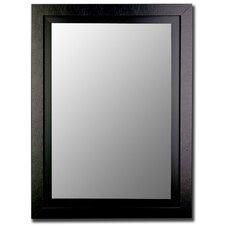 Black / Black Framed Wall Mirror