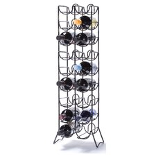Scaffovino 18 Bottle Floor Wine Rack