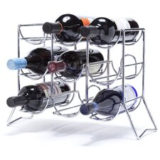 Scaffovino 9 Bottle Tabletop Wine Rack