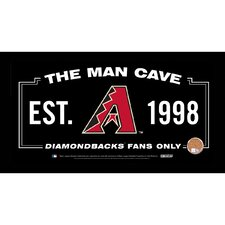 MLB Framed Man Cave Sign