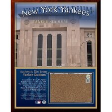 2009 Yankee Stadium Dirt Plaque