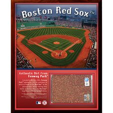 Fenway Park Dirt Plaque