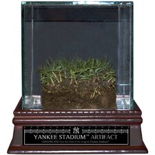 Original Yankee Stadium Freeze-Dried Grass with Glass Display Case