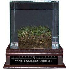 Original Yankee Stadium Freeze-Dried Grass with Glass Display Case