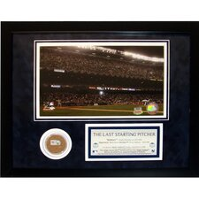 "Andy Pettitte ""The Last Starting Pitcher"" Mini Dirt Collage"