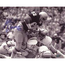 Mark Bavaro Notre Dame Action Autographed Photograph Memorabilia