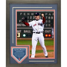 Jon Lester 2008 No Hitter Legendary Moments Framed Collage