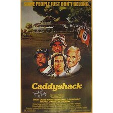 Caddyshack Michael O'Keefe Autographed Movie Poster