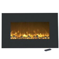 Flat Wall Mounted Electric Fireplace