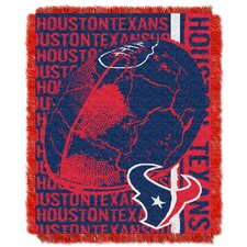 NFL Houston Texans Triple Woven Jacquard Throw Blanket