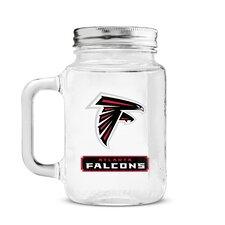 NFL Mason Jar