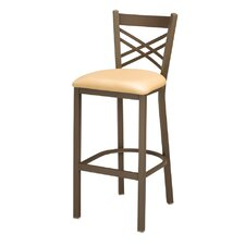 X Back Bar Stool