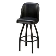 Large Bucket Swivel Bar Stool