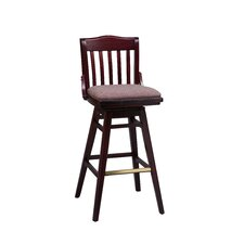 School House Swivel Bar Stool