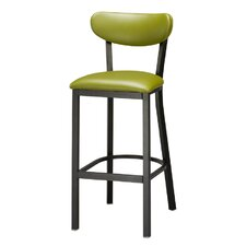 Upholstered Seat and Back Bar Stool