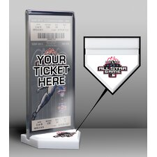 MLB All-Star Game Home Plate Ticket Display Stand