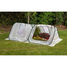 StarterHouse 8 Ft. W x 4 Ft. D Polyethylene Mini Greenhouse