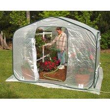 Dreamhouse 8 Ft. W x 8 Ft. D Polyethylene Greenhouse