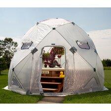 DomeHouse 13 Ft. W x 13 Ft. D Polyethylene Greenhouse